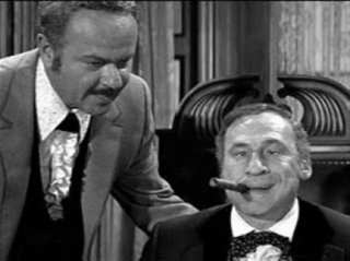 Mel Brooks and Harvey Korman